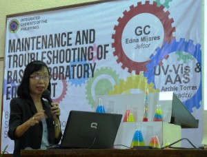 Edna Mijares, lecture on GC