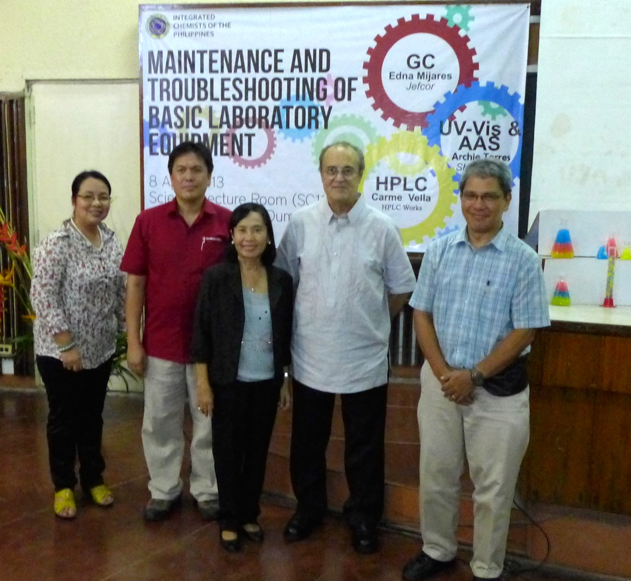 ICP Conducts Maintenance and Troubleshooting of Basic Laboratory