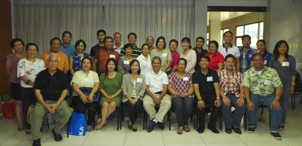 Meeting of ICP officers, Silliman Univ, April 9, 2013